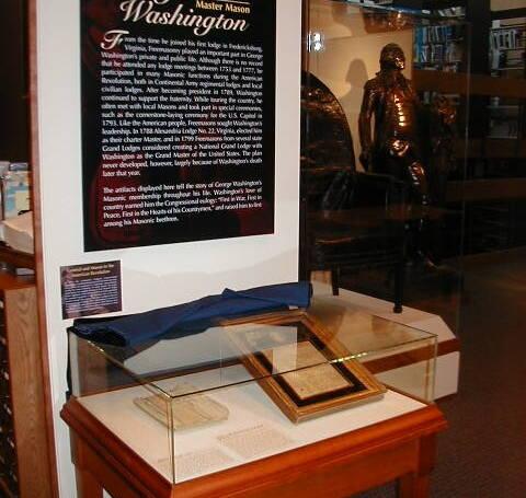 George Washington: Freemason and Founding Father Exhibition, The National Heritage Museum, 2005