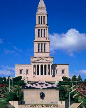 The George Washington Masonic National Memorial, Alexandria, VA